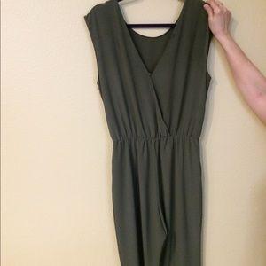 Zara Other - Olive Green Zara Jumpsuit